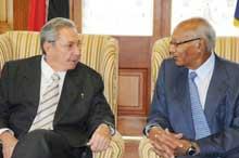 """Raúl Castro: """"los caribeños formamos una misma familia"""""""