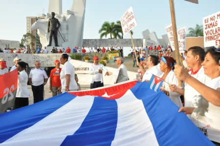 International Repercussion of May Day in Cuba