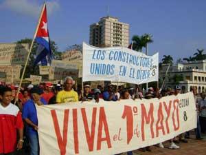 Coincidencias y diferencias del 1ro de mayo en Cuba
