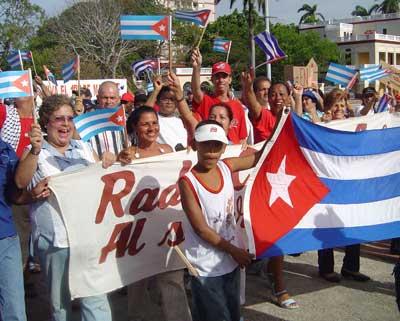 Comienza en Camagüey desfile por el Primero de Mayo