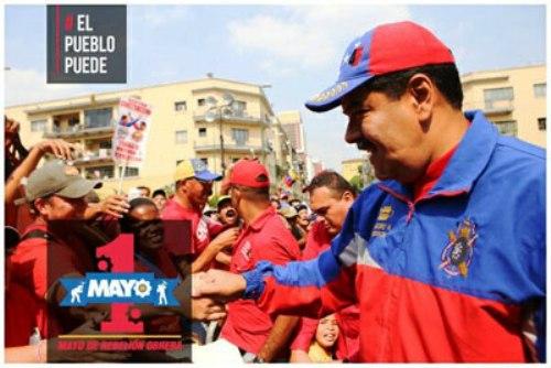 Respaldan trabajadores venezolanos la Revolución bolivariana