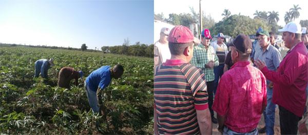 Recorren en Santa Cruz del Sur centros vinculados a la producción agropecuaria