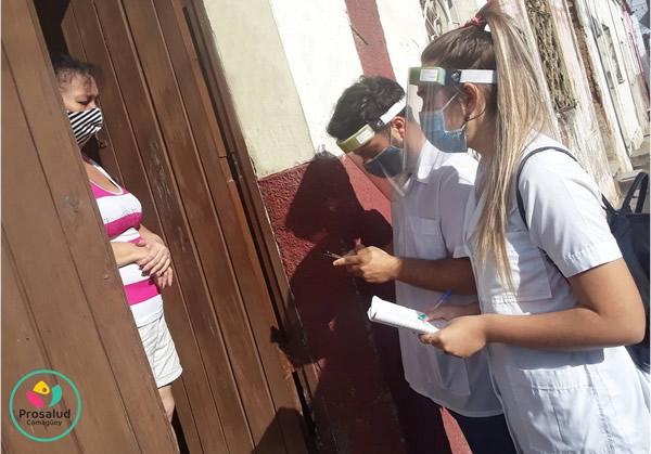 Evalúan en Camagüey aporte de estudiantes de Ciencias Médicas al pesquisaje