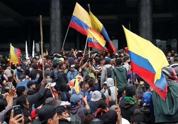 Ecuatorianos saldrán a las calles en protesta a decisiones económicas del gobierno