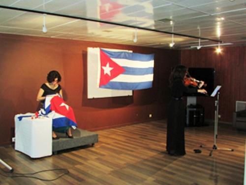 Presentan en UNESCO proyecto artístico Bandera