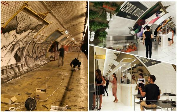 Instalarán bar-restaurante en estación del metro de París cerrada hace 80 años
