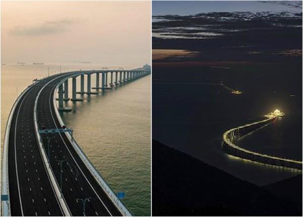 Inauguran en China el mayor puente marítimo del planeta (+Video)