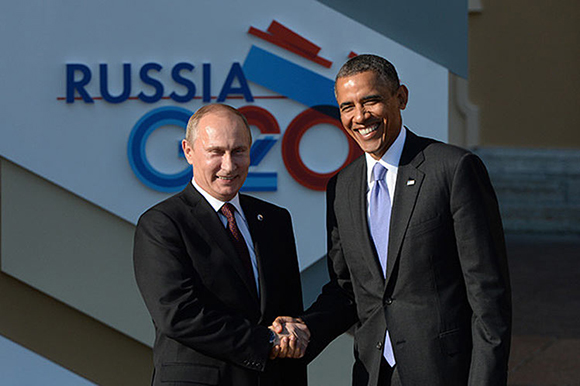 Dialogan Putin y Obama en Cumbre del G-20 en China