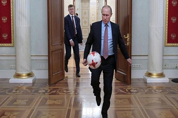 Putin intercambia con estadistas que asistirán a la final de Rusia 2018