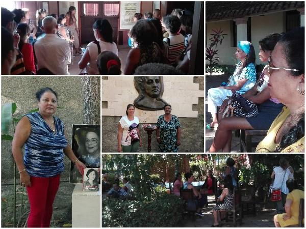 Féminas camagüeyanas realizan Coloquio de Historia en Museo Quinta Simoni