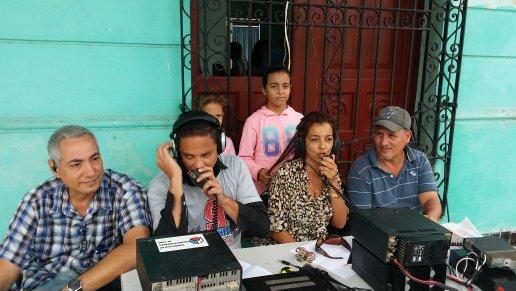 Radioaficionados del Camagüey en transmisión especial dedicada a José Martí (+ Fotos)