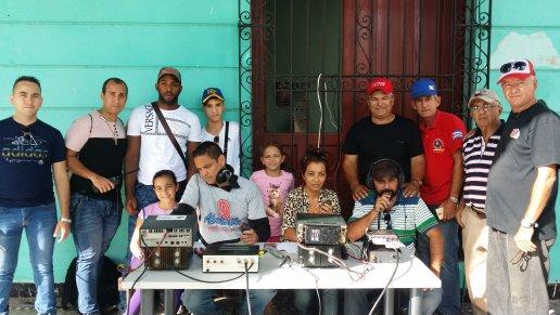Radioaficionados camagüeyanos, siempre prestos