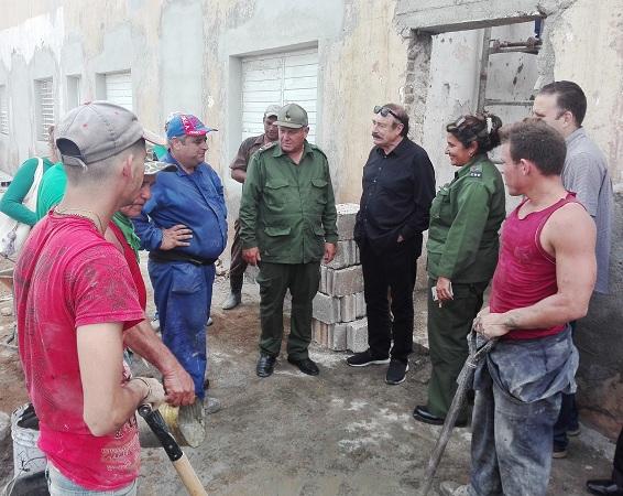 Camagüey est un exemple de récupération pour les autres pays, souligne Ignacio Ramonet ( photos)