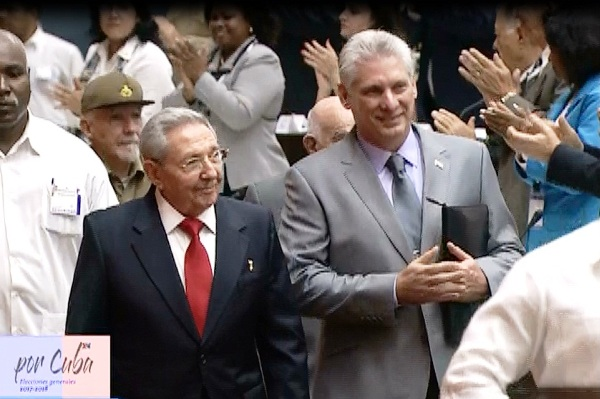 Raúl Castro Attends Inauguration of the Cuban Parliament