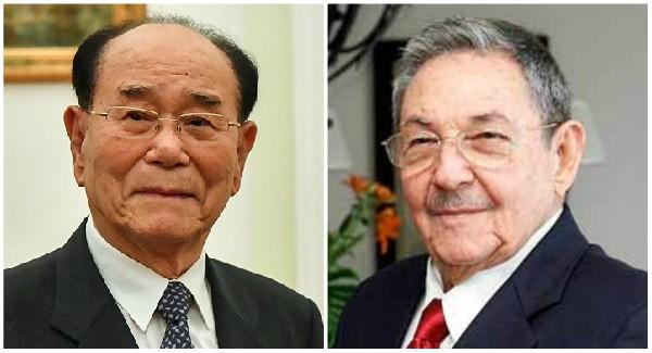Raúl Castro recibe a dirigente de la República Popular Democrática de Corea