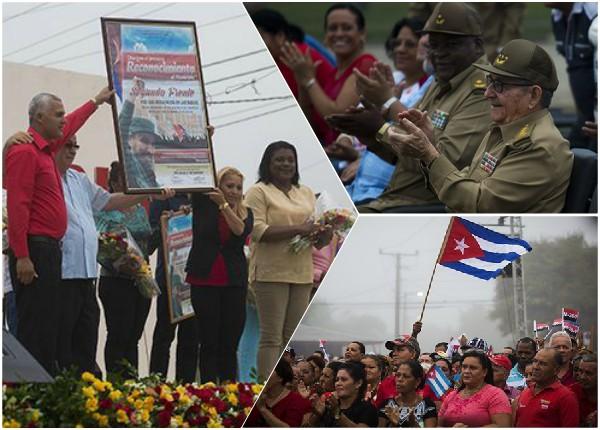 Asistió Raúl Castro a celebración por el 26 de Julio en Segundo Frente