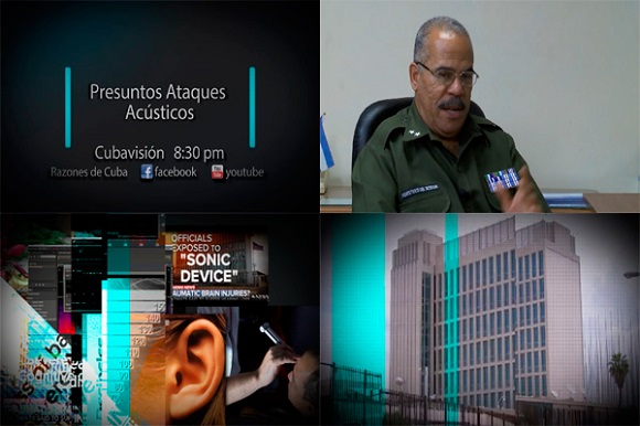 Cuban TV will broadcast Alleged Sonic Attacks documentary