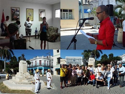 Artistas y jóvenes de la Radio camagüeyana, fieles a la Historia