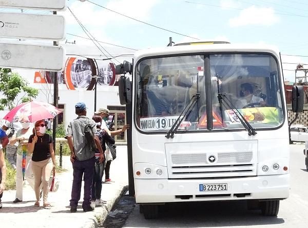 Se restablece paulatinamente la transportación pública en Camagüey
