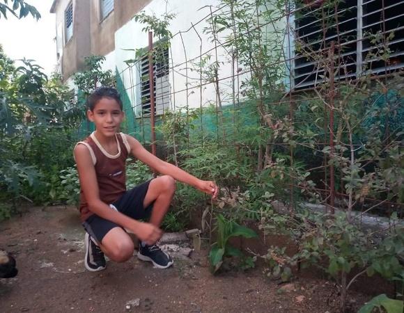 Jorge Luis, un superhéroe con la naturaleza en el corazón (+ Fotos)