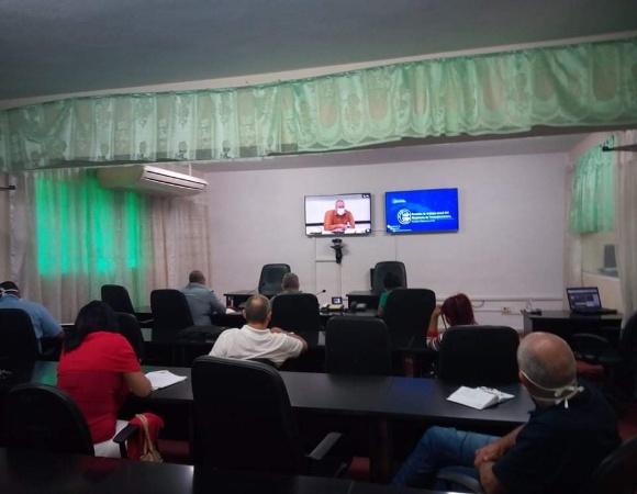 Participan directivos camagüeyanos en balance anual del Ministerio de las Comunicaciones