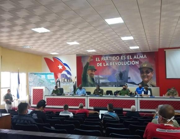 Evalúan autoridades en Camagüey comportamiento de los servicios básicos y situación epidemiológica