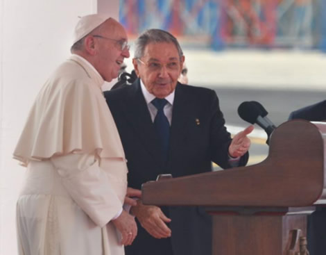 El Obispo de Roma hará visita de cortesía al Presidente cubano