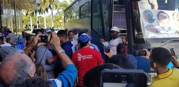 Camagüey recibe jubiloso a sus Toros (+ Audio)