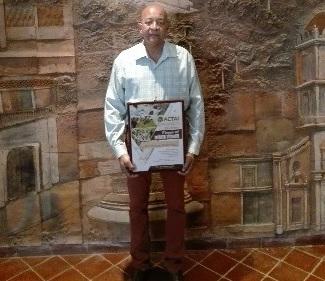 Recibe destacado educador ambiental camagüeyano Premio al Mérito Técnico