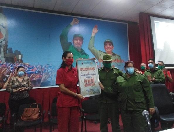 Reconoció Consejo de Defensa Provincial en Camagüey a los CDR en su aniversario 60