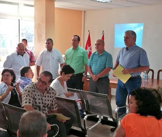 Continúa visita de trabajo del Consejo de Ministros a Villa Clara (+Video)