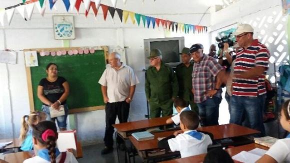 Recorre Espinosa Martín obras constructivas en Camagüey (+Fotos)