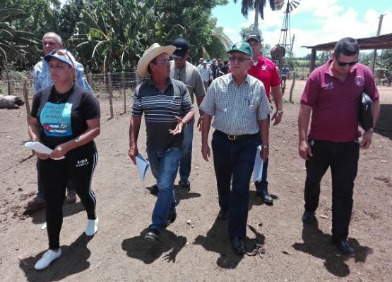 Llama Ulises Rosales en Camagüey a retomar enseñanzas de Fidel para desarrollo ganadero (+ Fotos)