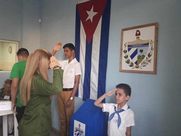 More than two million Cubans voted for their constitution in only two hours