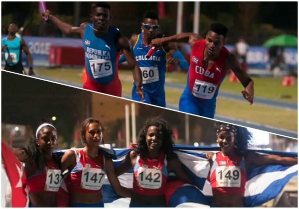 Atletismo cubano suma diez títulos en cita centrocaribeña