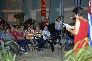 Delegados del Gobierno de pueblo rinden cuenta a sus electores