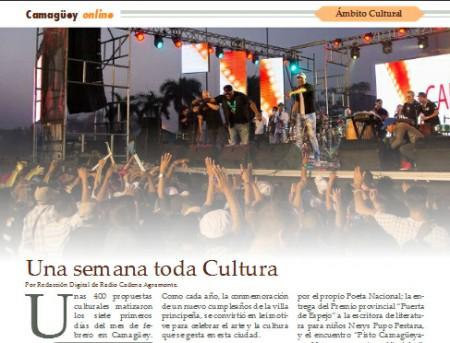 Estrena Radio Cadena Agramonte revista digital Camagüey online