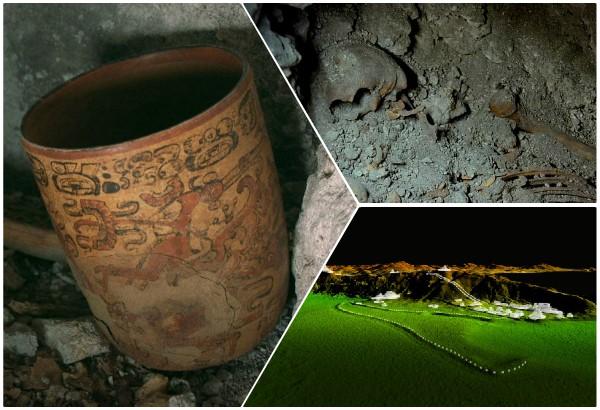 Hallan en selva guatemalteca esqueletos de reyes mayas