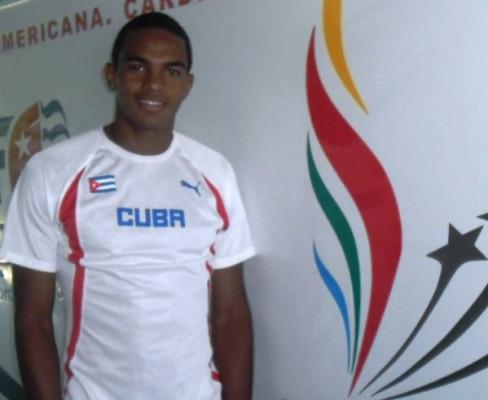 Roberto Skyers,  atleta más destacado del mes de febrero en Camagüey