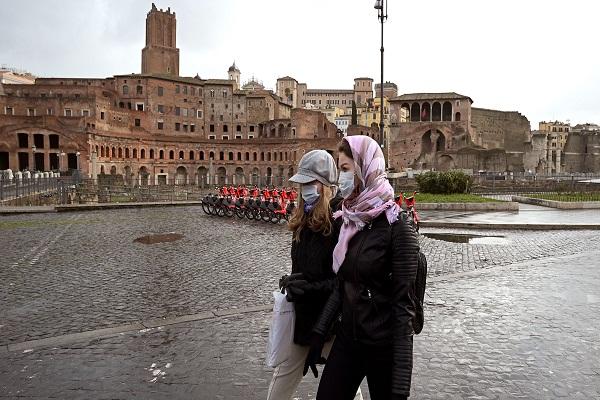 Sin el agasajo habitual, Roma está de cumpleaños