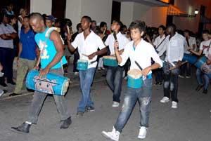 Ensayos de congas preludian próximos festejos del San Juan camagüeyano