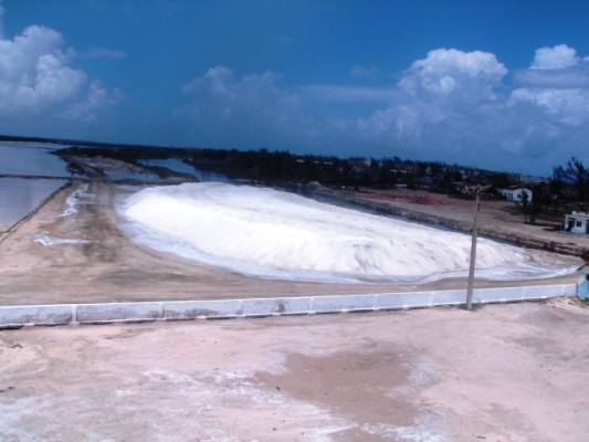 Salina camagüeyana cerca de su plan anual de produccción