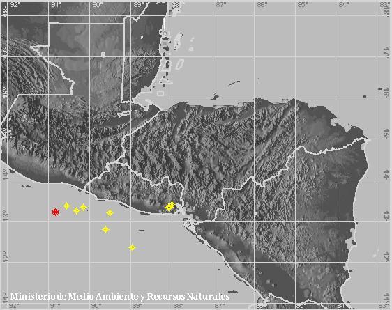 Sacudida zona salvadoreña del golfo de Fonseca por enjambre sísmico