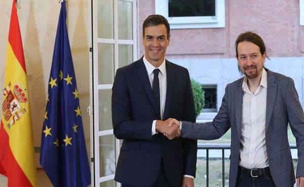España: Con Iglesias como vicepresidente, Sánchez arma su Gabinete