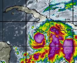 Cuba se prepara para llegada de tormenta tropical Sandy