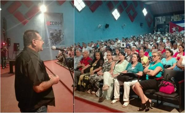 Rechazan trabajadores de empresa camagüeyana Santa María ley anticubana Helms-Burton
