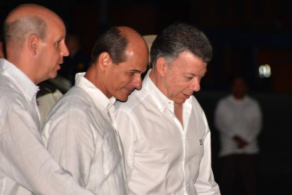 Presidente de Colombia comienza visita oficial a Cuba