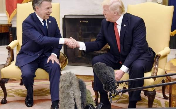 Trump recibe a presidente de Colombia para dialogar sobre agenda bilateral