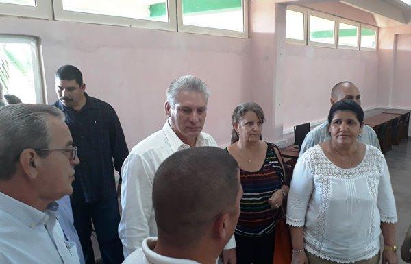 Asiste Díaz-Canel a inauguración de nueva sede universitaria en la provincia de Artemisa (+ Fotos)