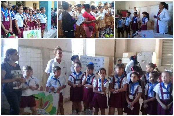 Escuelas camagüeyanas viven Semana del Bienestar (+ Audio)